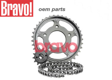 China Cg Fan 125 09 OEM Motorcycle Parts Kit RelaçãO Kit TransmissãO Steel 1045 Material supplier