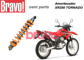 China XR250 Tornado Nitrogen Gas Motorcycle Shock Absorber Hydraulic Oil Brazil Tornado Mono Shock supplier