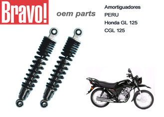 China Amortiguadores GL 125 Motorcycle Rear Shocks Absorbers CGL 125 Cargo 52400-KC5-NG supplier