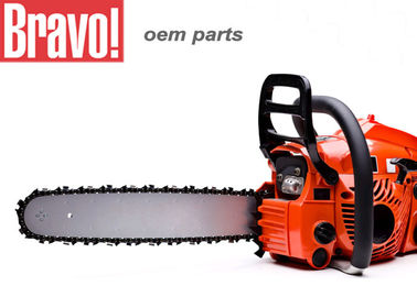 China Heavy Duty Lawn And Garden Equipment 61.5cc Petrol / Gasoline Chain Saw supplier