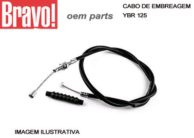 Cabo Suzuki YES 125 Motorcycle Clutch Cable Replacement With Zinc Nipples End Parts