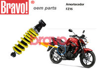 Nitrogen Gas Yamaha Fz16 Shock Absorber , Motorcycle Gas Shocks Yellow Color